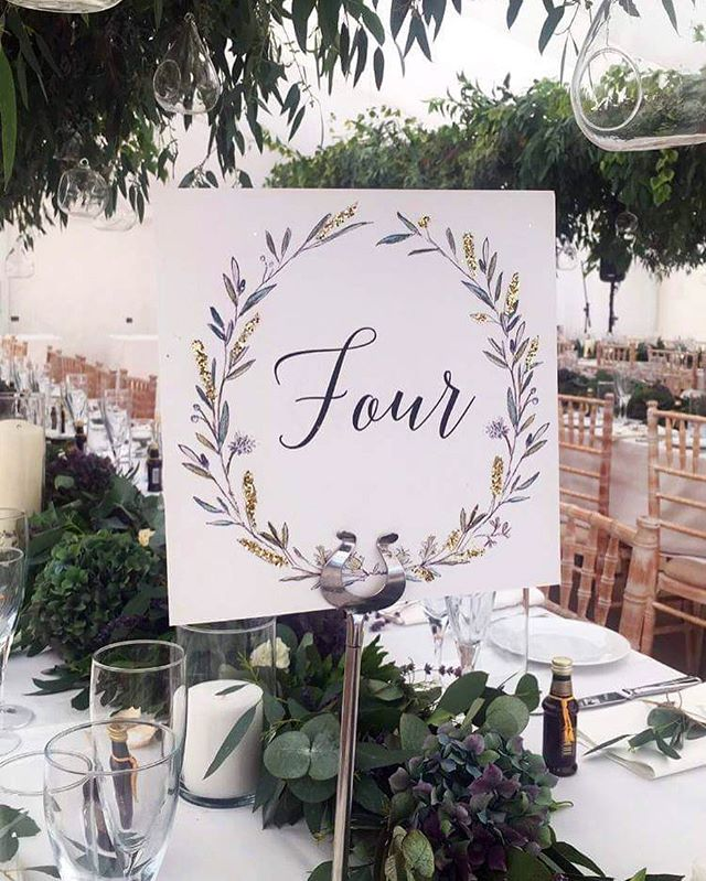 Botanical table names with gold flourishes for the wonderful @j_holden1 wedding and inspired greenery by @moatfarmflowers 🌿🍃🌿🍃🌿Probably the most beautiful marquee I ever did see! #dailydoseofpaper #underthefloralspell #bloomandgrow #botanicaldaydreams #flowersandotherstories #dsfloral #moodforfloral #flowersgivemepower #floralfridaycompetition #aquietmoment #pursuepretty #bevisuallyinspired #aseasonalshift #asecondofwhimsey #inspiredbynature #seekinspirecreate #littlecornersofmylife #weddingstationery