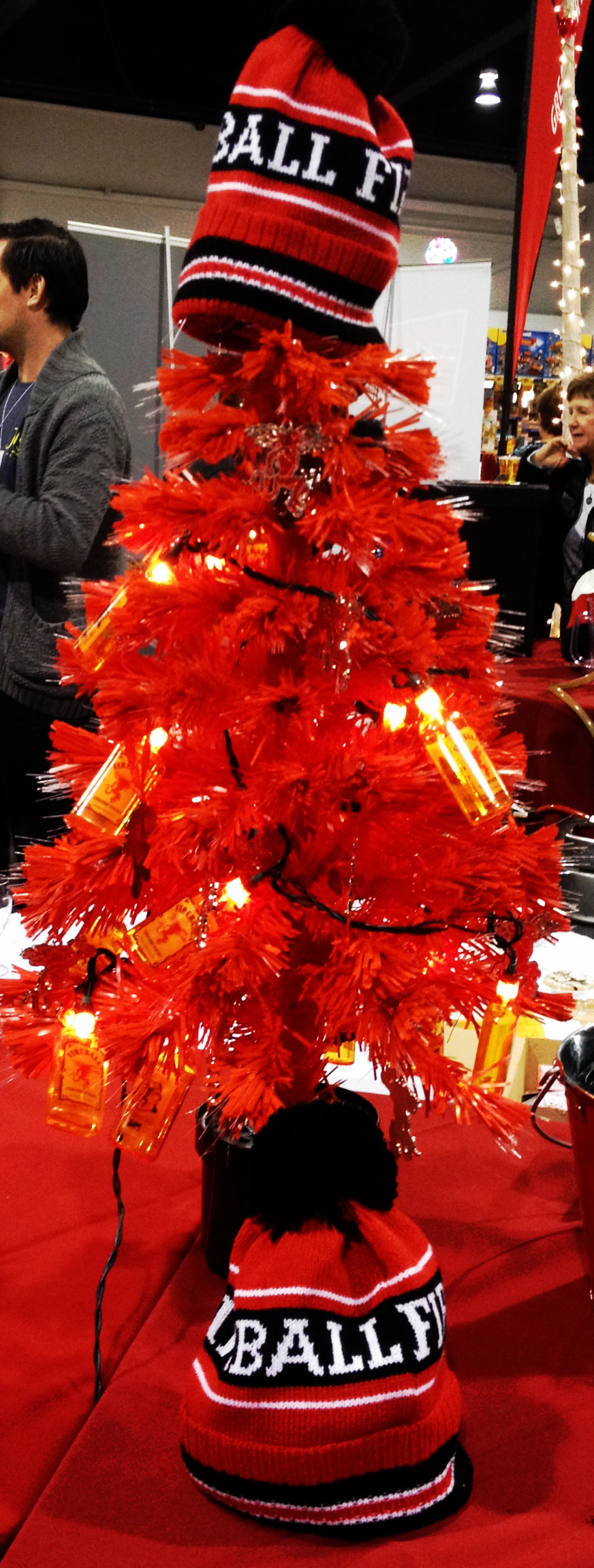 Fireball Christmas Tree