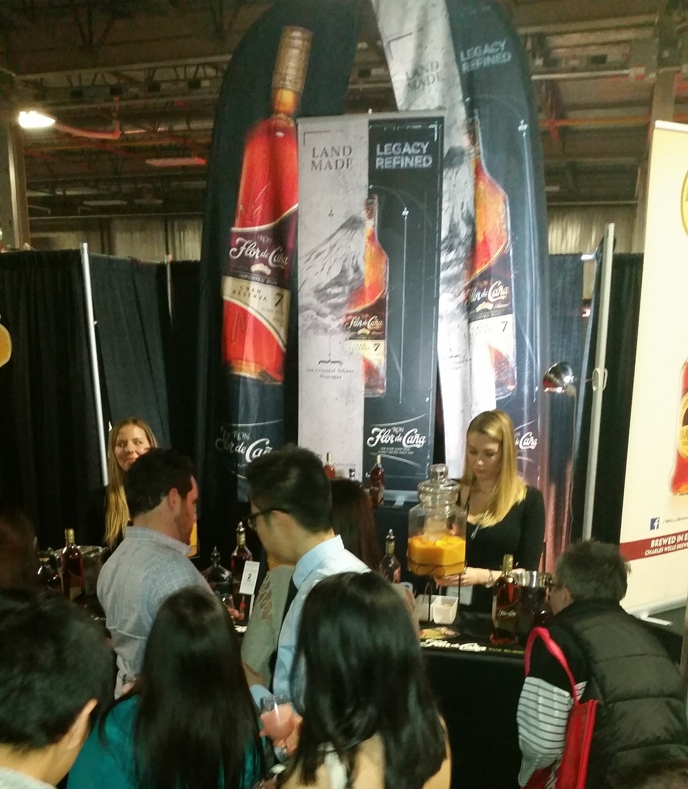 Flor de Cana @ The Wine and Food Show in London