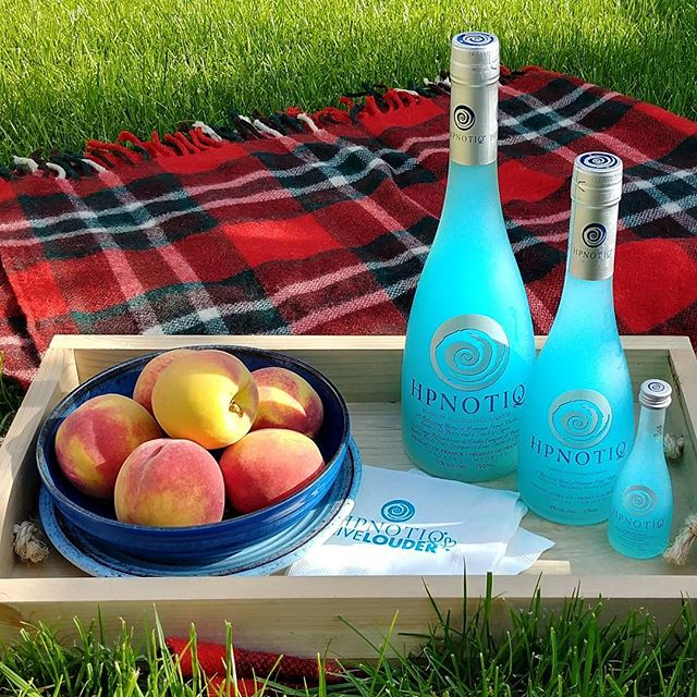 Happy Long Weekend friends 🌞🍸 . . Thank you Hpnotiq Canada #hpnotiqcanada #longweekend #toronto #the6ix #hpnotiq #picnic #labordayweekend #summer17 #byebyebye #aqua #cognac #vodka #peaches