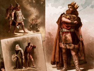 'Thomas Keene in Macbeth 1884' by W.J. Morgan & Co. Lith.—Licensed under Public domain via Wikimedia Commons.