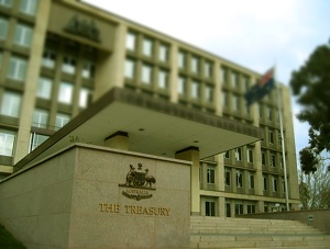 """Australian Treasury"". Licensed under CC BY-SA 3.0 via Wikimedia Commons."