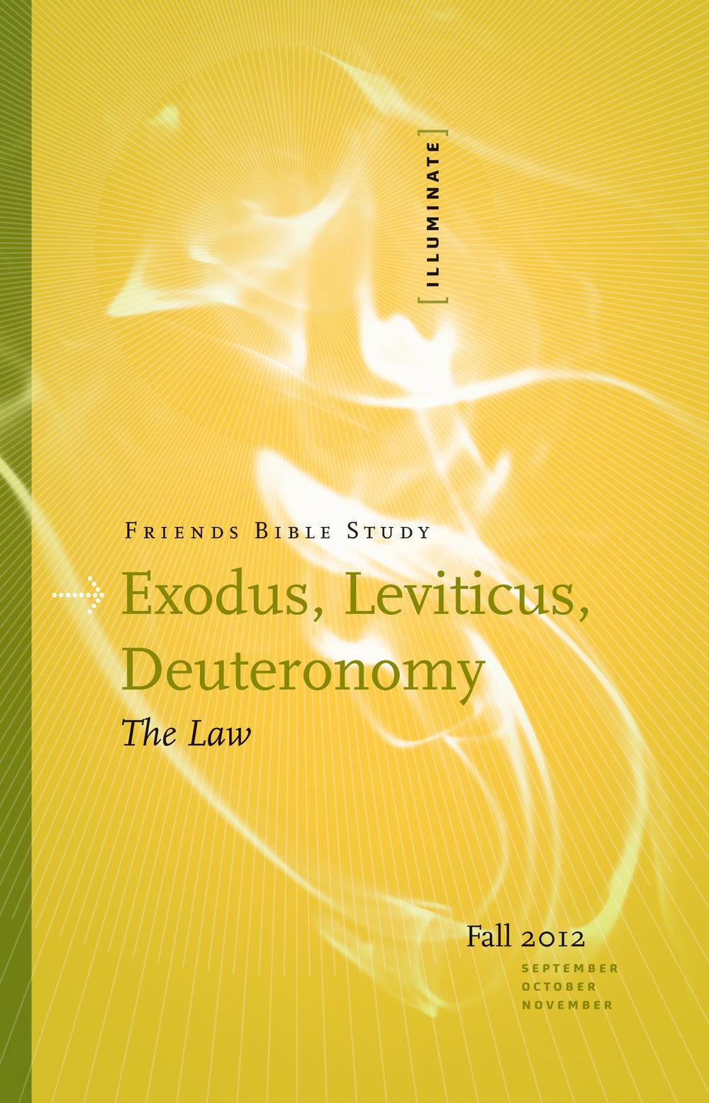 Exodus, Leviticus, Deuteronomy