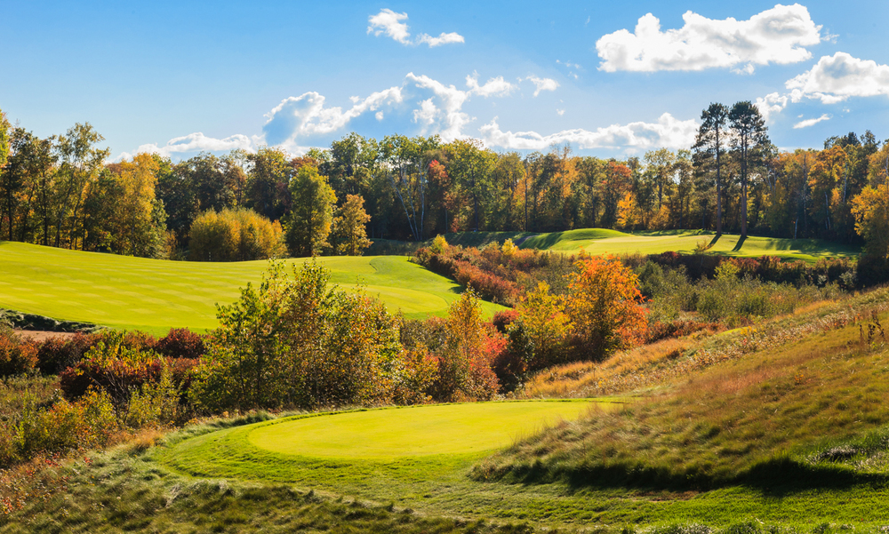 Hole 7 during the fall.