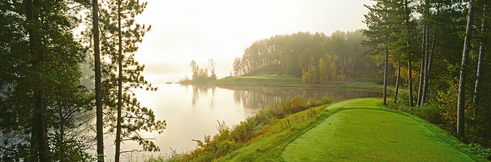 Hole 17.  One of the most photographed hole in Minnesota.