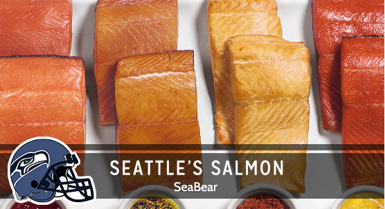 Mouthwatering Salmon from the Pacific Northwest.