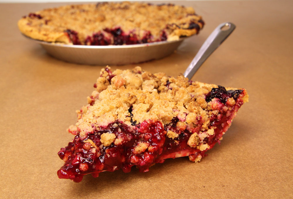 4-Berry Crumble Pie from Achatz