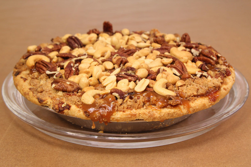 Caramel Nut Pie from Achatz
