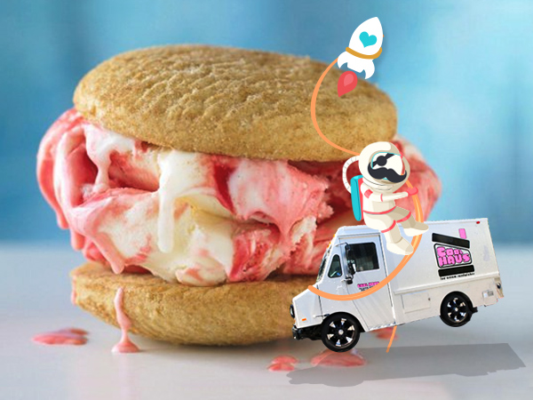 ice cream sandwiches images of angels