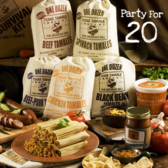 Texas Tamale Party Pack