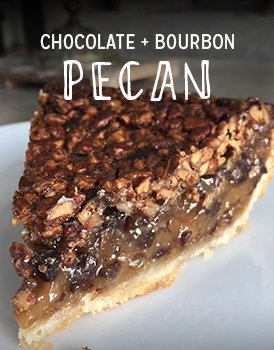 Chocolate + Bourbon Pecan