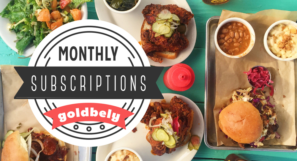 The Greatest Foodie Subscriptions Ever