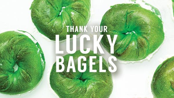 Ess-a-Bagel's Green Bagels