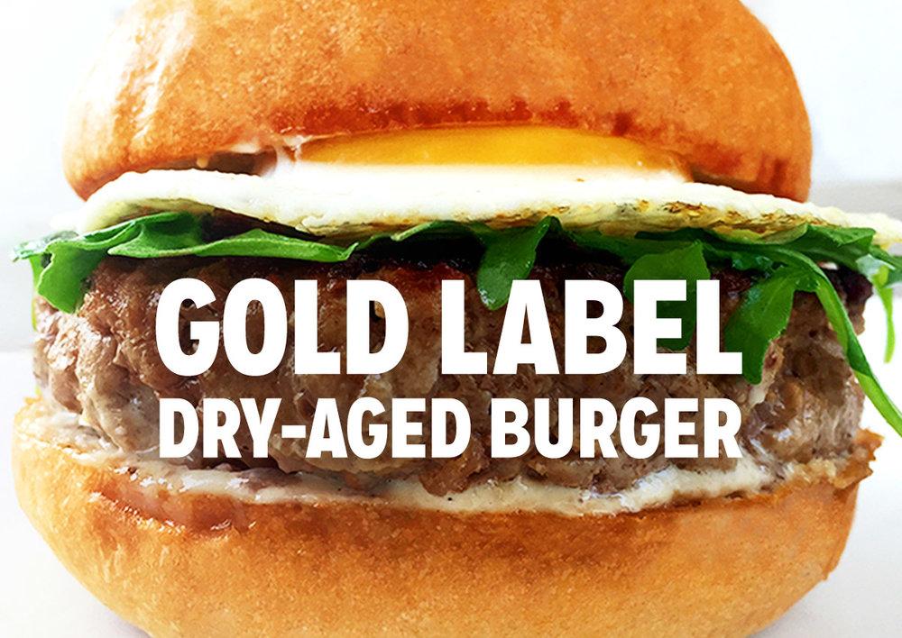 The Gold Label Burger: A Goldbely x Pat LaFrieda Burger Blend