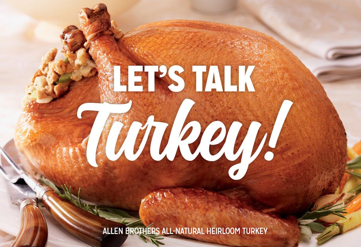 Thanksgiving Turkeys & More