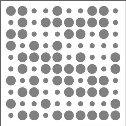 Two circles. -