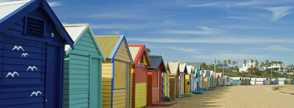 Melbourne's Amazing Beach Huts