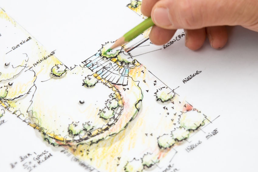 Landscape planning can be essential to keep your costs low and sticking to budget.