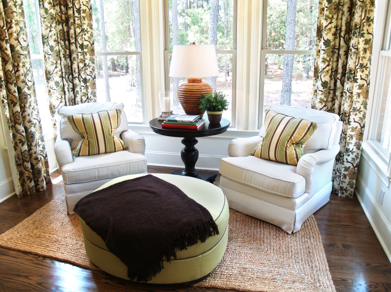 Curtains can be one of the best ways to transform what looks like boring windows.