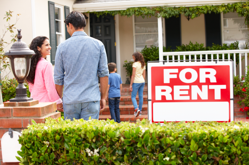 Renting can offer some positives for both families and young people wanting a change