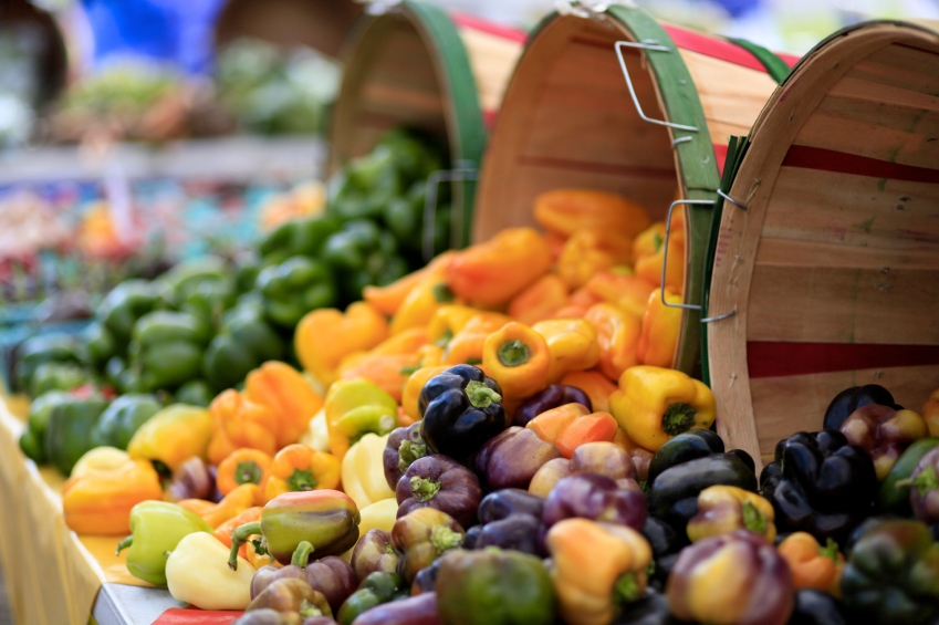 Flea markets can sometimes have fresh fruit and vegetables so you can get shopping done as well.