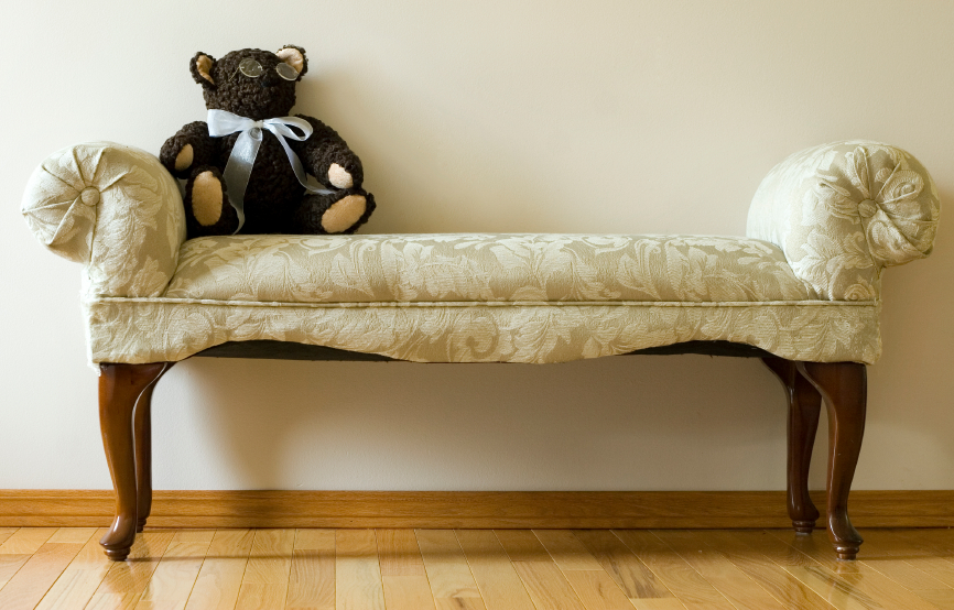Old furniture can be used for alternative needs or redesigned all together.