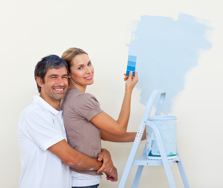 Painting a home can give it the desired style you are looking for. However make sure you do your research and do colour matching before starting.