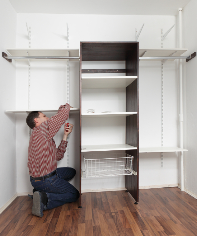 Building in storage units can be a great way to save space, this can also be a really cost effective way to prevent the need for external storage.