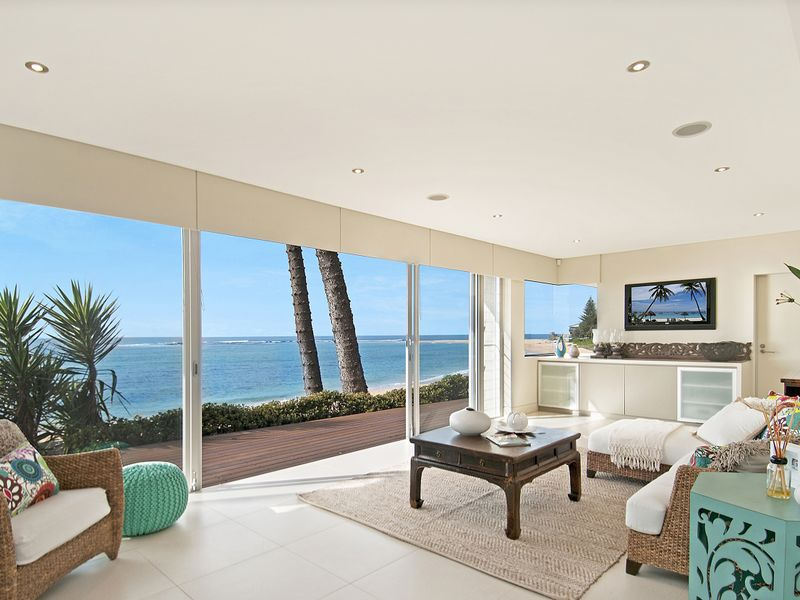 Subtle interior with a beach design, makes for a beautiful home.