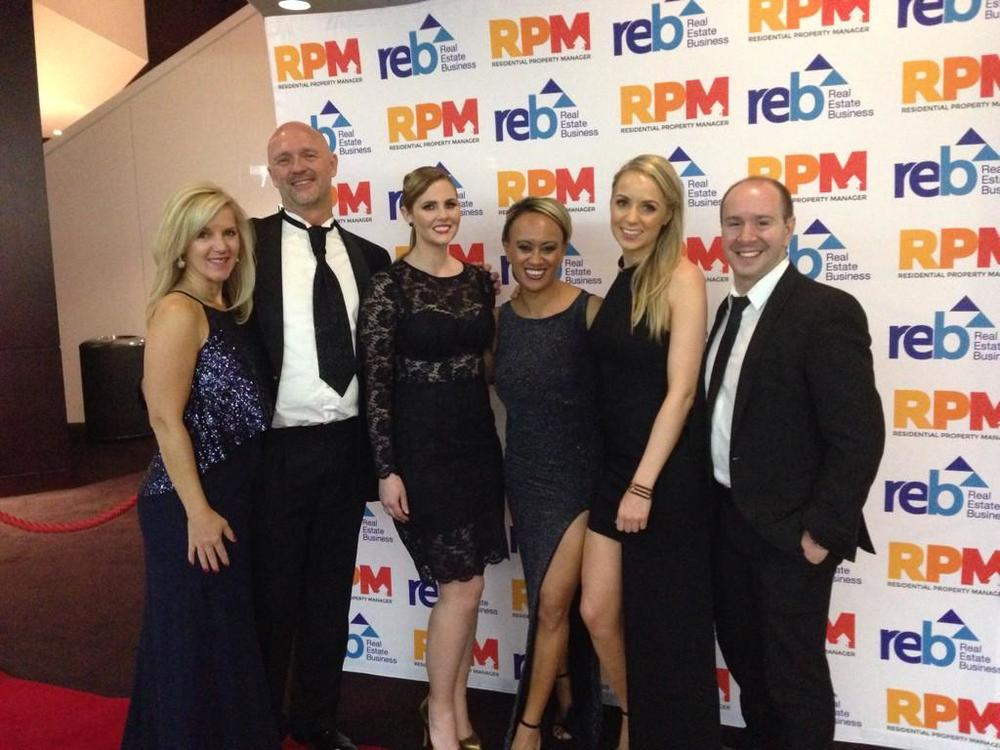 The team from McGrath - Unfortunately not a winner but an abundance of nominations.