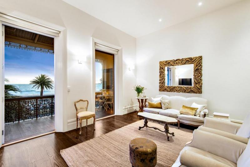 From the living room, you have a sea breeze blowing in, whilst plenty of space that oozes on to the balcony.