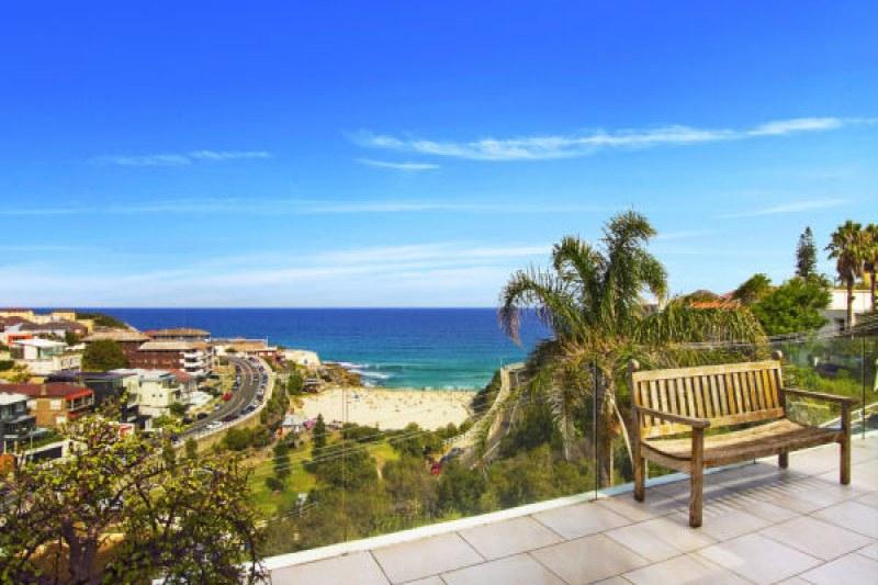 The view overlooking Tamarama Beach.