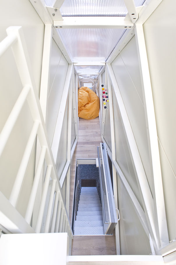 Known as the worlds slimmest house and located in Poland.