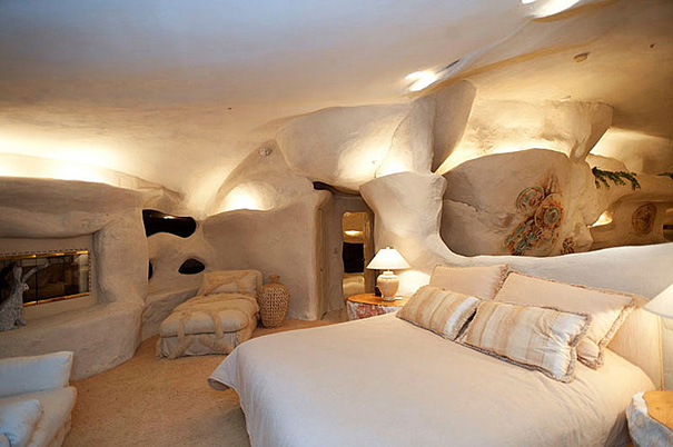 A Flinstones inspired home, located in Malibu.