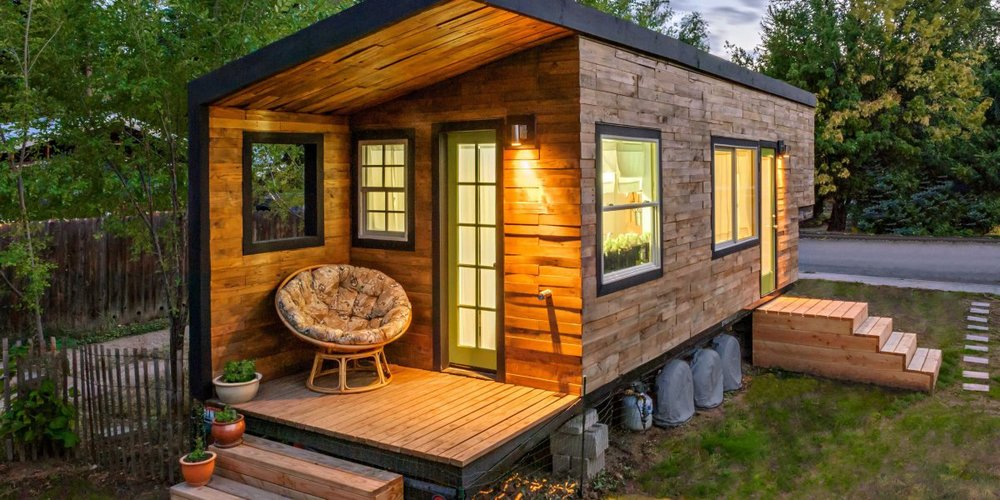 A $12,000 home to build in Idaho, which is 196 sqft.