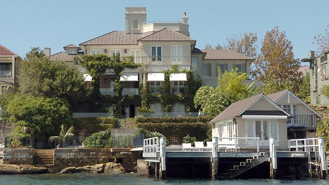 The Point Piper waterfront mansion 'Altona' sold for an unprecedented $52 million in 2013.