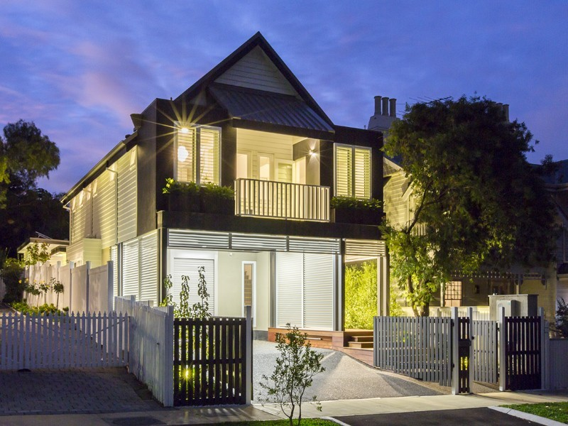 Brand new eco house,  36A Devon Road, Swanbourne, WA.