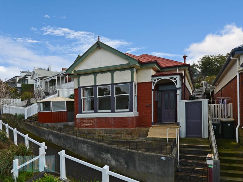 245 Bathurst Street, West Hobart, TAS.