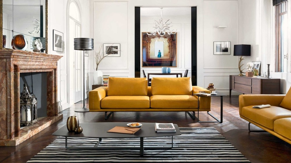 Natuzzi  Tempo Sofa
