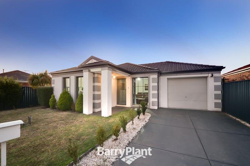 For sale:  3 Melaleuca Place, Pakenham, VIC , from $345,000.