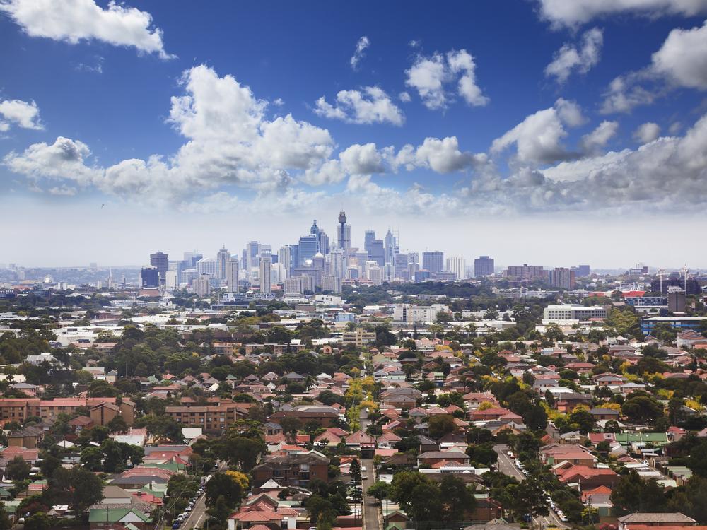 sydney suburbs stock