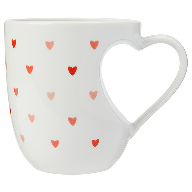 Heart Handle Fancy Mug by Target , $4.