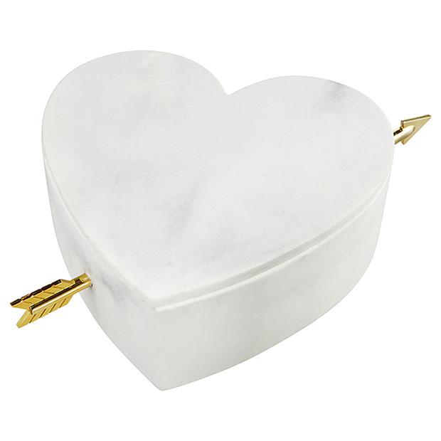 Lisa T Heart Trinket Box by Target , $25.