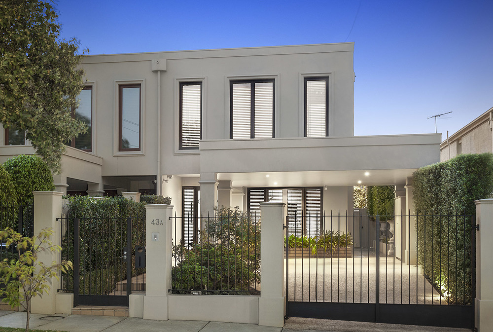 For sale:  43A Baird Street, Brighton East, VIC.
