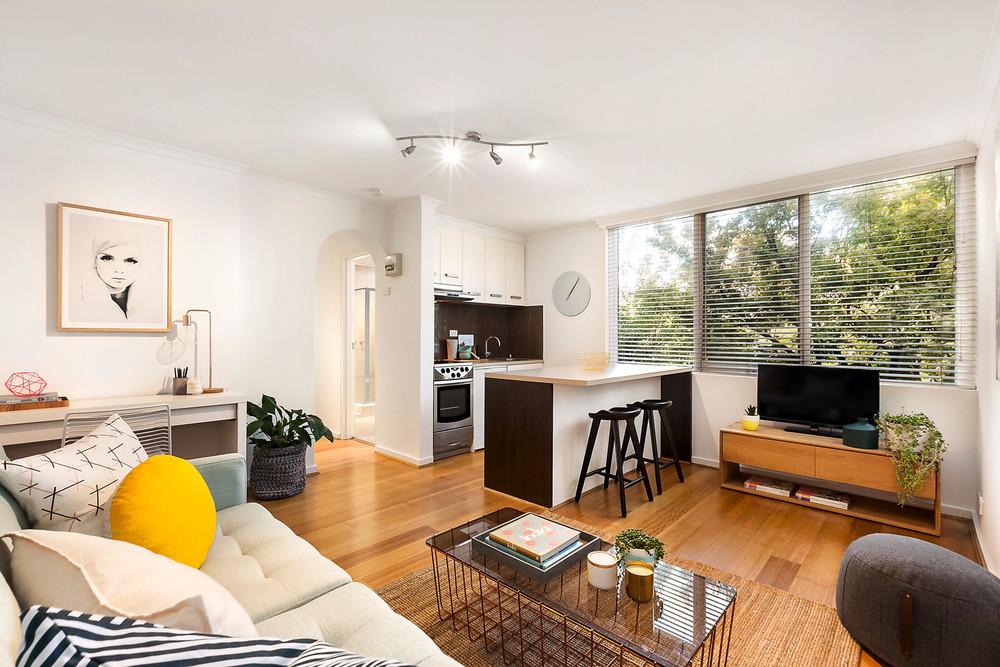 For sale: 1 bedroom, 1 bathroom apartment at 8/34 Mathoura Road, Toorak, VIC.