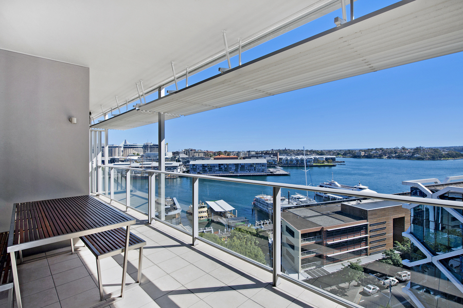 For rent:  1105/23 Shelley Street, Sydney, NSW.