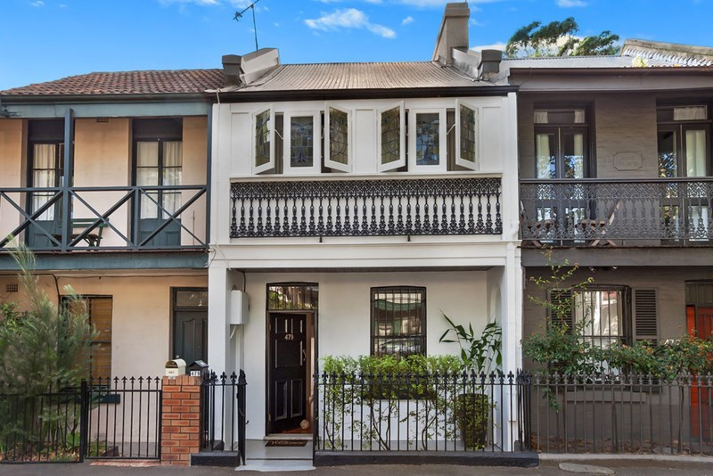 For sale: 479 Riley Street, Surry Hills, NSW.