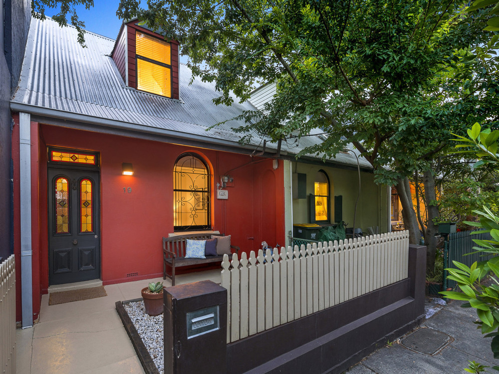 For sale: 19 Commodore Street, Newtown, NSW.
