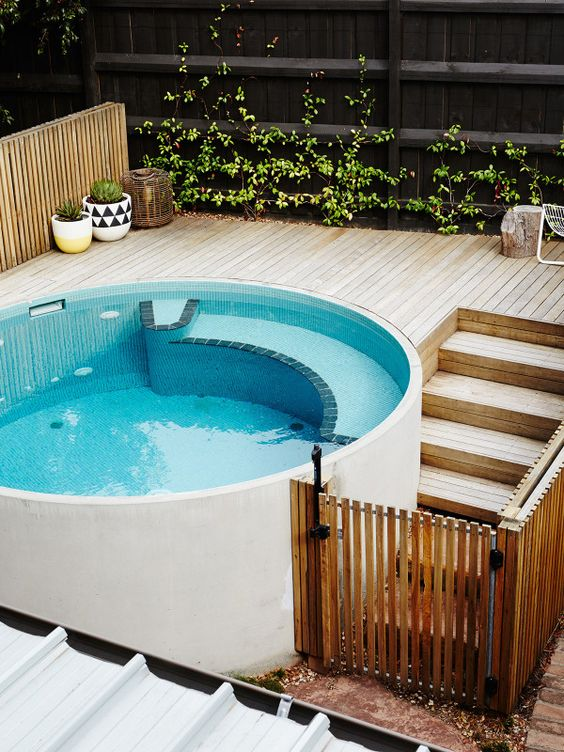 Swimming Pool Designs For Small Yards ... VIC Image: Digs Digs