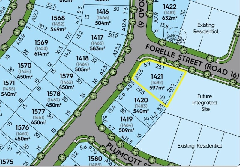 For sale: Lot 1421 The Gables, Old Pitt Town Road, Box Hill, NSW